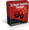 Thumbnail EZ Ebook Templates Package