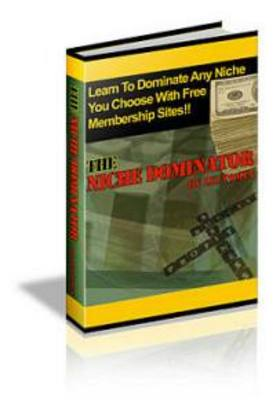 Pay for The Niche Dominator