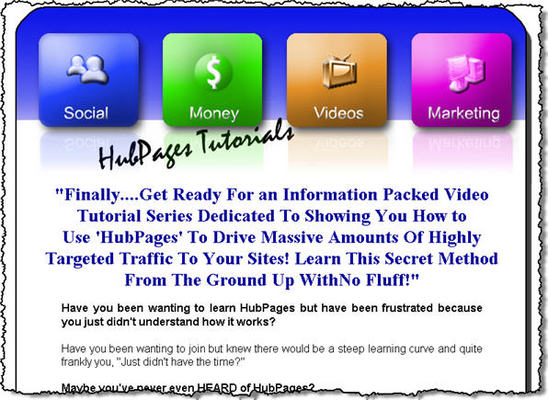 Pay for Hub Pages Video Tutorials Master Resell Rights