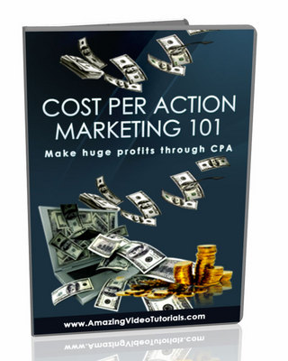 Pay for CPA Cost Per Action Marketing 101 25 Video Series MRR