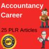 Thumbnail Accountancy Career 25 PLR Articles