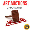 Thumbnail Art of Auctions Plr  private label articles