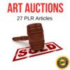 Thumbnail Art of Auctions Plr  private label articles