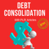 Thumbnail Debt Consolidation - Private Label PLR Articles on Tradebit