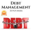 Thumbnail Debt Managment - Private Label PLR Articles on Tradebit