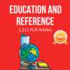Thumbnail Education and Reference - PLR Private label Rights articles