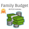 Thumbnail Family Budget - Quality PLR Private Label Rights Articles