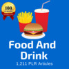 Thumbnail Food and Drinks - PLR MRR Private Label Rights articles