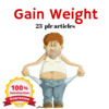 Thumbnail Gain Weights - MRR, PLR Private Label Rights Articles