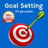 Thumbnail Goal Setting - MRR PLR Private Label Rights Articles
