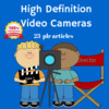 Thumbnail High Definition HD Cameras - PLR MRR Articles