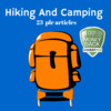 Thumbnail Hiking and Camping - PLR MRR Private Label Rights Articles