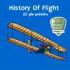 Thumbnail History of Flight - PLR MRR Private Label Rights Articles