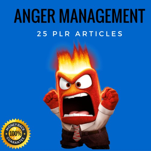 Pay for Anger Management Plr Private Label articles 2016