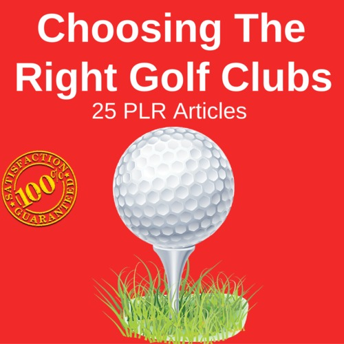 Pay for Golf Club - High Quality PLR Private Label Rights articles