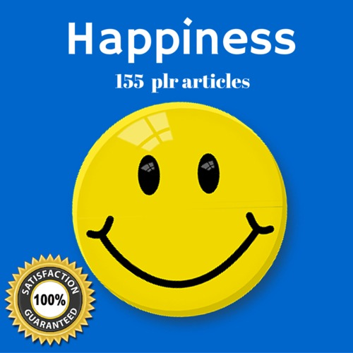 Pay for Happiness - MRR PLR Private Label Rights Articles