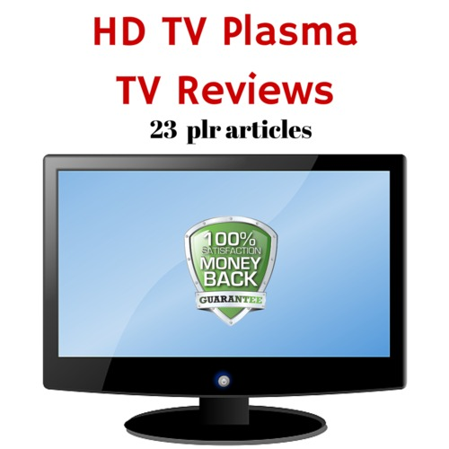 Pay for HD TVs - PLR MRR Private label rights Articles