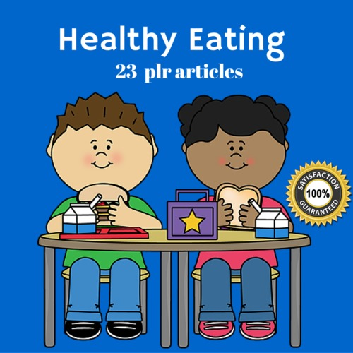 Pay for Healthy Eating - PLR MRR Private label Rights Articles