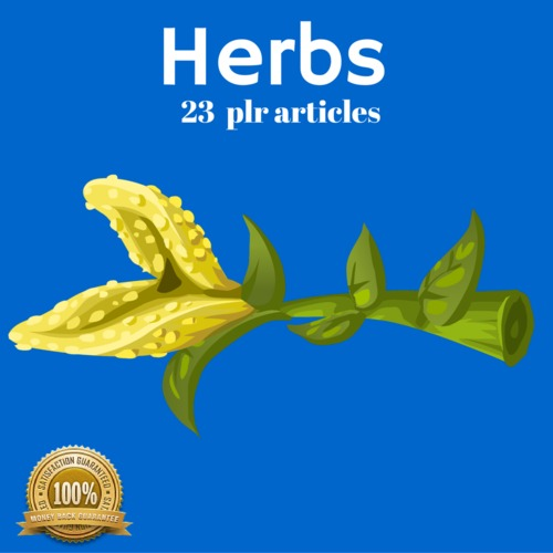 Pay for Herbs - PLR MRR Private Label Rights Articles