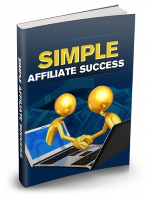Pay for Simple Affiliate Success - Successful Affiliate Marketer
