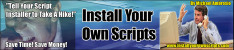 Thumbnail Install Your Own Scripts