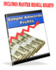 Thumbnail Simple Adwords Profits MRR giveaway rights
