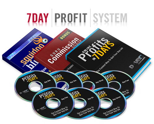 Pay for 7 days profit system with mrr