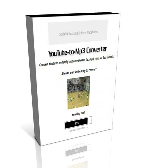 Pay for YouTube-to-Mp3 Converter :: PHP Script for Win32 Systems