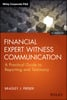 Thumbnail Financial Expert Witness Communication