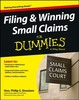 Thumbnail Filing and Winning Small Claims For Dummies