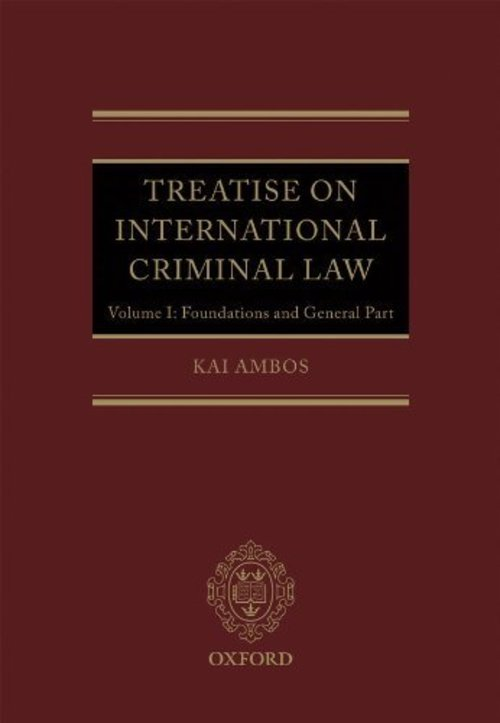 Pay for Treatise on International Criminal Law
