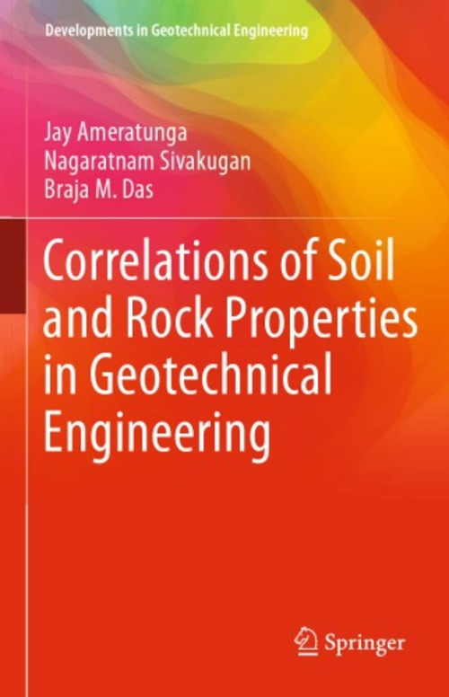Pay for Correlations of Soil and Rock Properties