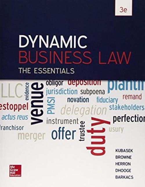 Pay for Dynamic Business Law