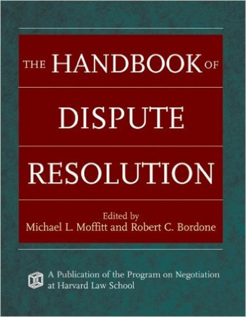 Pay for The Handbook of Dispute Resolution