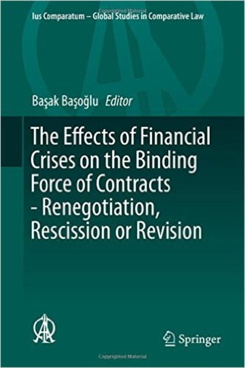 Pay for Effects of Financial Crises on the Binding Force of Contract