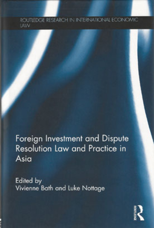 Pay for Foreign Investment and Dispute Resolution Law