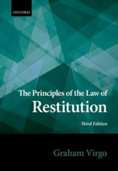 Pay for The Principles of the Law of Restitution