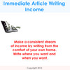 Thumbnail Immediate Article Writing Income