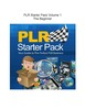 Thumbnail PLR Starter Pack Volume 1 - The Beginner(Part of a set of 3)