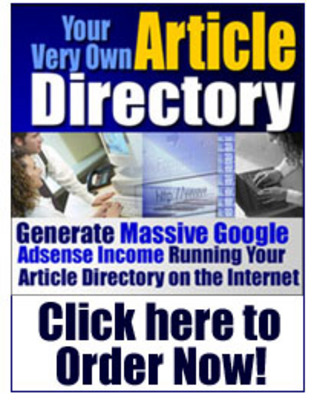 Pay for Article Directory