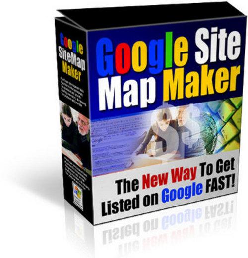Pay for Google Site Map Maker MRR   Salespage