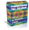 Thumbnail Cheap PLR eBook - 200 Problem Solving Tips