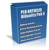 Thumbnail Buy PLR Articles Hi-Quality Pack 5 with Bonus