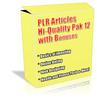 Thumbnail Buy PLR Articles Hi-Quality Pack 12 with Bonus