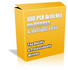Thumbnail Buy 100 PLR Articles on Fitness & Weight Loss + Bonuses