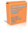 Thumbnail Buy 25 Anxiety Attacks PLR Articles *NEW* +Bonuses