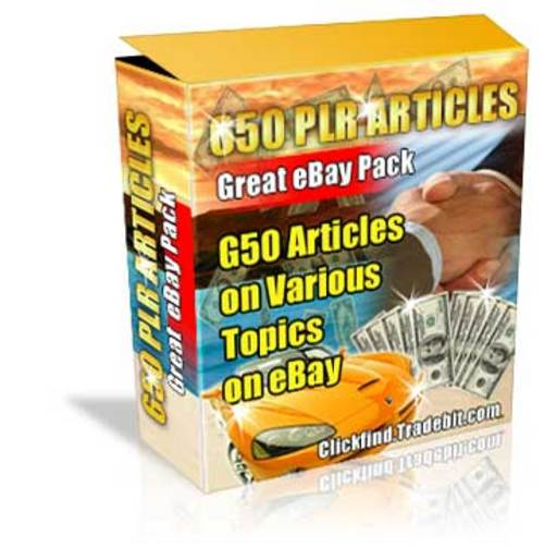 Pay for Buy PLR Articles - 650 eBay Quality Articles!