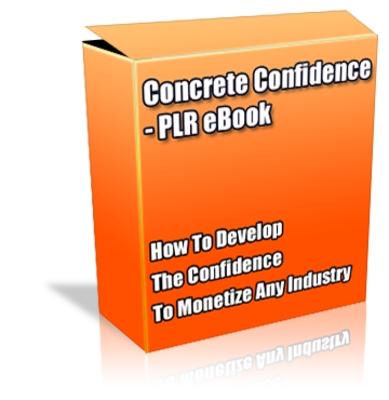 Pay for Buy PLR eBook - Concrete Confidence