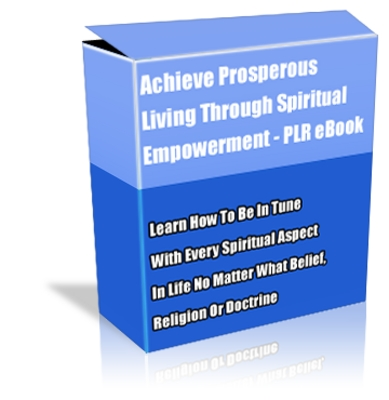 Pay for Buy PLR eBook - Achieve Prosperous Living