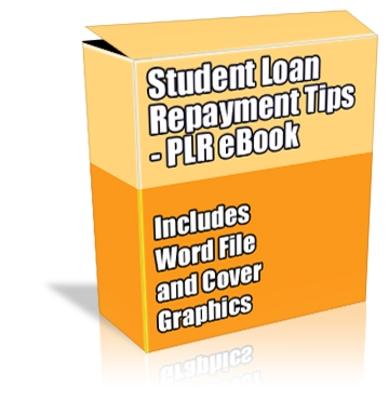 Buy PLR Article/eBook  Student Loan Repayment Tips  Download Educ
